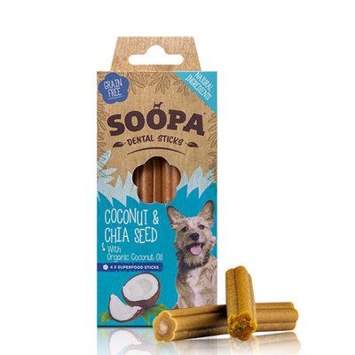 Soopa dental stick Kokosnoot & Chiazaden