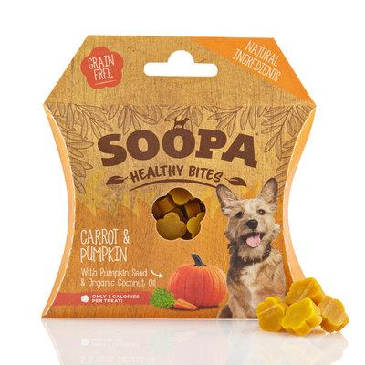 Soopa Bites pompoen & wortel