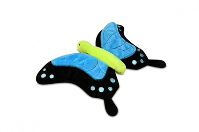 Plush Butterfly dog toy