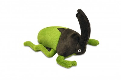 Plush Beetle dog toy