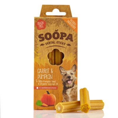 Soopa Dental stick Wortel met Pompoen