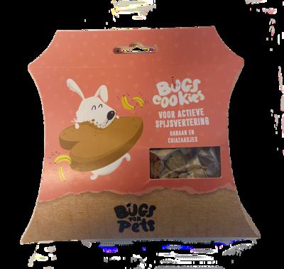 BugsforPets - Bugs Cookies - Voor actieve spijsvertering