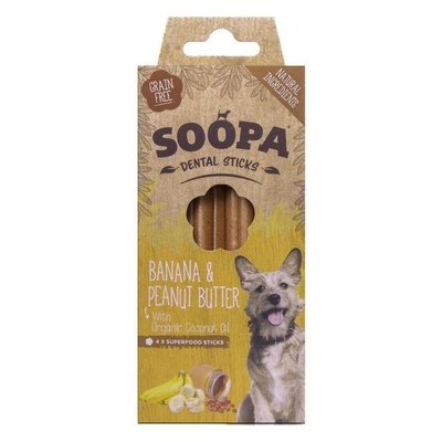 Soopa Dental stick Banaan & Pindakaas